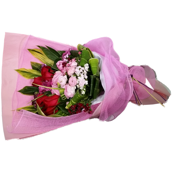 Peony with Roses Bouquet